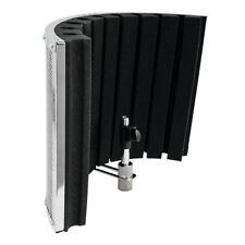 Omnitronic AS-02 Microphone SOUND SHIELD COMPACT PORTABLE ACOUSTIC SCREEN