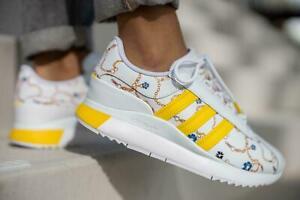 adidas Originals Womens SL Andridge Trainers White/Yellow
