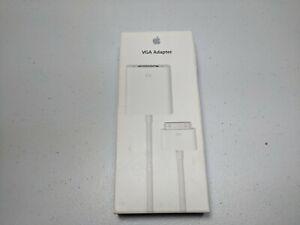 New Genuine Apple 30-Pin To VGA Adapter MC552ZM/B  Model A1368