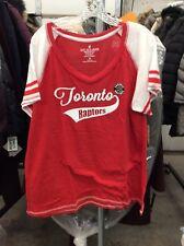 NBA Toronto Raptors V Neck Shirt Women's Size 2XL