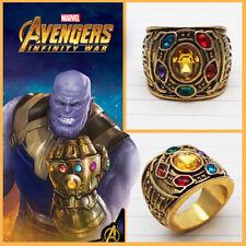 Thanos The Infinity Gauntlet ring Avengers Marvel comics gems GOTG Ronin Prop