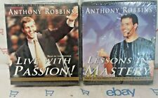 Live With Passion & Lessons in Mastery Anthony Tony Robbins Audio Books