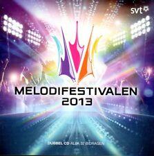 2 CD Melodifestivalen 2013, schwedisch, Eurovision,Pre-Selection Sweden Schweden
