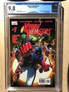 Young Avengers #1 CGC 9.8 1st app Kate Bishop, Allen Heinberg