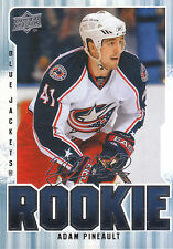 08-09 UPPER DECK MVP ROOKIE RC #361 ADAM PINEAULT BLUE JACKETS *3047
