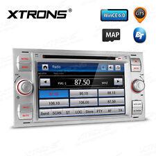 XTRONS 2 DIN Autoradio GPS Navigation DVD 8GB Map für Ford C/S-Max Fiesta Fusion