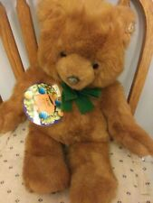 "1987 Gund The Bear With No Name Brown 22"" long Exclusively for Jc Penney"