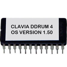 Clavia Ddrum 4 Firmware Latest OS Version 1.5 Upgrade Update Eprom Ddrum4 Nord