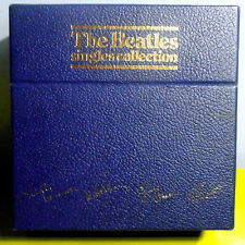"""THE BEATLES SINGLES COLLECTION~RARE ORIG '82 UK 26X7"""" BOX w/PIC SLEEVES+PIC DISC"""