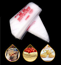 10'' 100Pc Disposable Kitchen Cream Pastry Cake Icing Piping Decorating Bag Tool