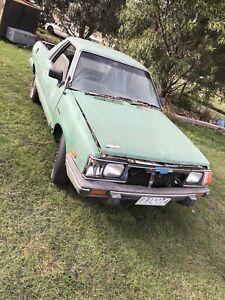 Wrecking Subaru Brumby