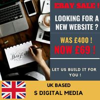 EBAY SALE ! Website Design Free Web Domain, Hosting Included & Much More !