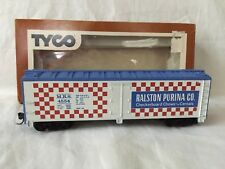 Tyco #355-E HO Scale Ralston Purina 40' Billboard Reefer #4554 with KD Couplers
