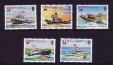 2002 Jersey. States Vessels  SG 1024/28  MNH