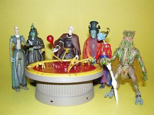 Star Wars Saga 2003 Geonosian War Room Loose