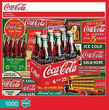 BUFFALO GAMES JIGSAW PUZZLE EVERGREEN COCA-COLA 1000 PCS #11269