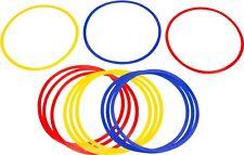 Agility SPEED RINGS (set of 12) fitness soccer football netball training - NEW
