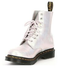New Dr. Martens 1460 Pascal Croco Embossed Shimmer Leather Combat Boots sz US 10