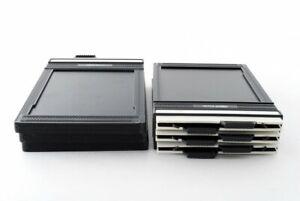 Fidelity Elite 4x5 Cut Film Holder Back Lot of 6 [Excellent++] from Japan#724586