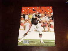 1989 Cleveland Browns Football Yearbook