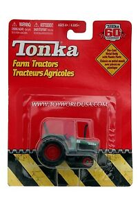 2007 Tonka 60th Anniversary Farm Tractors Green with Red Wheels