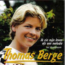 Thomas Berge-Ik zie mijn leven als een melodie cd single