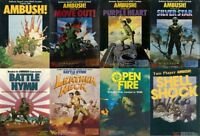 Avalon Hill Ambush Series Games Complete Collection PDF Reference DVD Free P+P