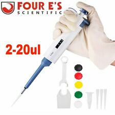 Micro Transfer Single Channel Pipette 2 20ul Adjustable Volume Pipettor For Lab