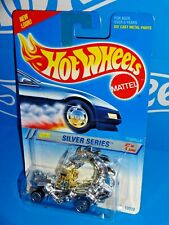 Hot Wheels 1995 Silver Series #323 Rodzilla Chrome w/ UHs