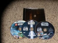 Lot of 3 PC Star Wars Games
