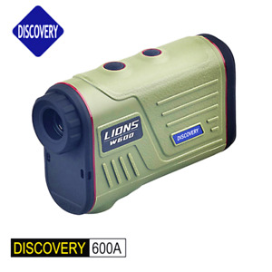 Discovery Laser 600m 1200m Hunting Rangefinders 8X Golf Height Angle Measuring