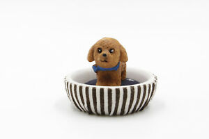 Dollhouse Miniature Fairy Garden - Dog / Puppy Accessory - DOG BED 4cm