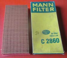 original MANN Filter,Luftfilter,C2860,C 2860,VW Golf,Caddy GLI,GTI,Jetta,Passat,