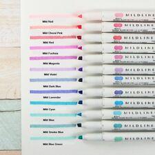 Zebra Mildliner Double-Sided Highlighter Pen Choose from 25 colors