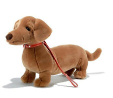 Plush & Company 05990 Peluche Cane Bassotto L.38 CM Chien Techel Dog Dachshund