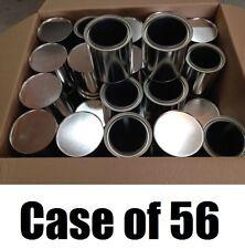 Case of (56) True Value  # EMPQT Lined, Empty Quart Size Paint Cans with Lids