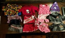 BUILD A BEAR Lot of 16 Pieces Clothing Harley Davidson Jacket & Accessories