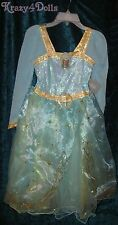 Disney Girls Size 9-10 Princess Merida Costume Dress New w/Tags