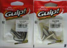 "New listing 2 - BERKLEY GULP!  2"" Minnow (10/Ct Pack) - Black Shad & Smelt"