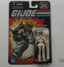 Azioni Force/Gi Joe Cobra 25th SNOW JOB SIGILLATA MOC SIVER Foil card