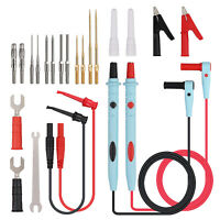 Multimeter Test Lead Kit Multimeter Probes Alligator Clips Test Hooks Probe Pins