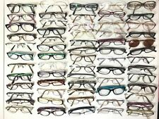 63 Mixed Prescription Eyeglasses Frames Spectacles Mens Ladies Job Lot Bundle
