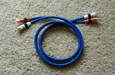New listing Tributaries Delta ( Rca Audio Interconnect Cables 1 meter )