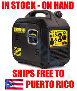 💡 ⚡ Champion Power Equipment 2000 Watt Portable Inverter Generator ULTRA LIGHT