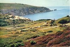 D 389 ISLE OF WIGHT - J.ARTHUR DIXON POSTCARD OF ALUM BAY & THE NEEDLES