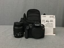 Canon EOS 2000D (MN DS126741) Wt Case, and Canon EFS 18-55mm Lens|Used|Free SH