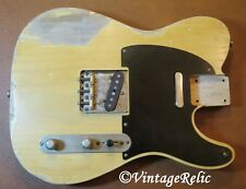 aged RELIC nitro TELE Telecaster load ASH body Fender Custom Shop Nocaster pups