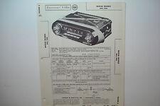 SAMS PHOTOFACT FOLDER 390-6 MOPAR MODELS 845 846 AUTO RADIO