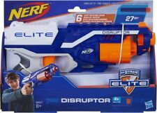 GENUINE NEW HASBRO NERF Elite Disruptor Gun Blaster Toy Rotating Drum + 6 Darts