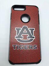 Auburn Tigers - Football Pebble Grain Leather Feel Hard Case iPhone 6s 6 7 Plus